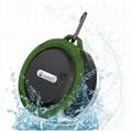 2017 Good design portable handle waterproof bluetooth speaker for outdoor Sports 2