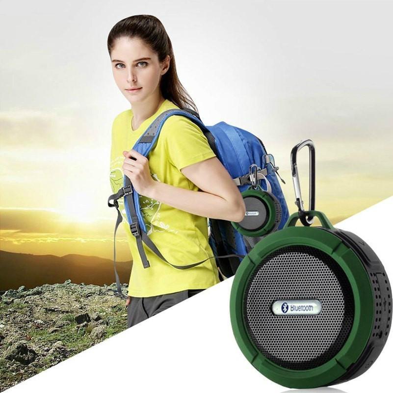 2017 Good design portable handle waterproof bluetooth speaker for outdoor Sports 6
