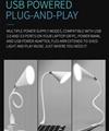creative gift tablet pc mini USB led light usb table lamp with Bluetooth speaker 3