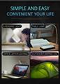 creative gift tablet pc mini USB led light usb table lamp with Bluetooth speaker 12