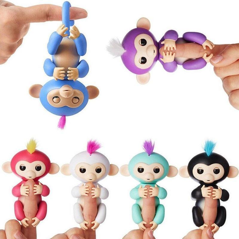 Hotsale Christmas Kids Gift Toy Smart Interactive Fingerlings Monkey