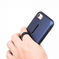Newest  2 in 1 Cell Phone case with Ring Holder Hard Kickstand Belt Clip Case