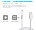 USB C Lightning Cable,  3 FT Fast Charging (Support 9V 2A, 14.5V 1.1A) USB Type