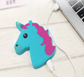 PVC emoji unicorn wireless charger for