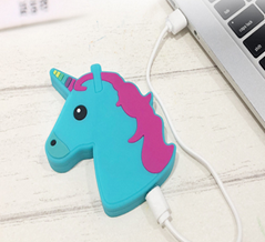 PVC emoji unicorn wireless charger for Iphone 8 android IOS