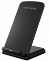 New fast wireless charging stand vertical mobile phone holder wireless charger