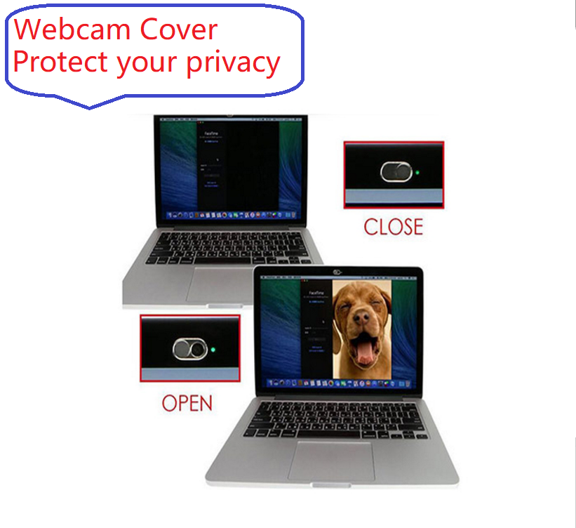 Amazon Hot Sale Slider Aluminum Webcam Cover for Phone &Laptop 1