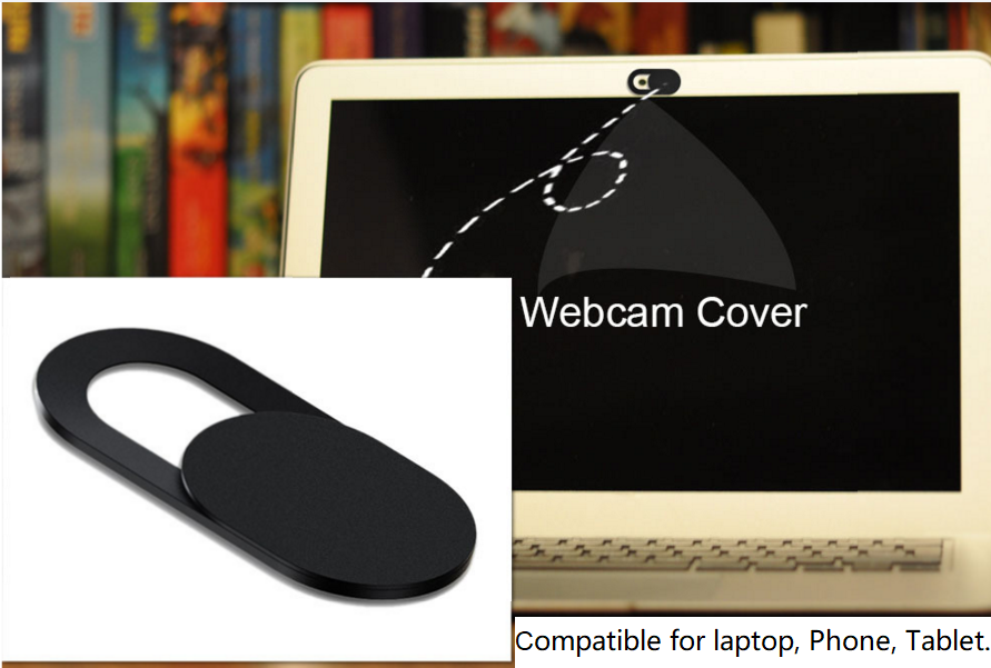 Hot sale amazon high quality ABS Plastic mini computer mobile phone webcam cover 1