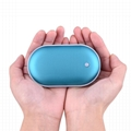 Hot selling Rechargeable hand warmer/warm hands portable power bank 5200mAh