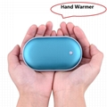 Pebbles Double-Side heating USB Rechargeable Hand Warmer 5200mAh