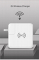 Wholesale universal travel charger Qi wireless mulifunctional power bank 6700mAh 9