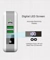 Wholesale universal travel charger Qi wireless mulifunctional power bank 6700mAh 5