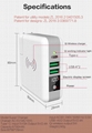 Wholesale universal travel charger Qi