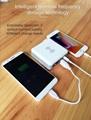 Wholesale universal travel charger Qi wireless mulifunctional power bank 6700mAh 11