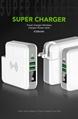 Wholesale universal travel charger Qi wireless mulifunctional power bank 6700mAh 3