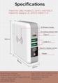 Wholesale universal travel charger Qi wireless mulifunctional power bank 6700mAh 13