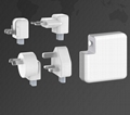 Wholesale universal travel charger Qi wireless mulifunctional power bank 6700mAh 17