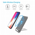 Latest Style Innovative Metal Foldable Wireless Fast QI Charger Of Vertical Supp 3