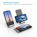 Latest Style Innovative Metal Foldable Wireless Fast QI Charger Of Vertical Supp 11