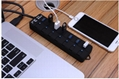 Super Speed 4 port usb hub with ac adapter usb 3.0 hub switches and LED 1