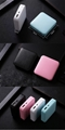 Amazon hot sell mini gift power bank colorful travel bag mobile portable charger