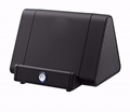 The most popular Induction Speaker with Mobile Phone Stand Magic Boost Speaker