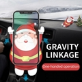 Christmas Gift Holder Air Vent Auto Gravity Car Mount for iPhone Samsung