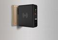 Newest universal travel charger Qi wireless mulifunctional power bank 8000mAh