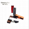 Full charger power bank 1200mah micro usb Juu Leather Case  Battery Starter Kit