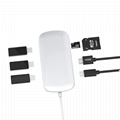 7-in-1 Type-C Adapter Hub Connect USB 3.0, 4K HDM1, SD and MicroSD Card for Mac