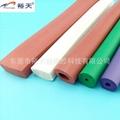 阻燃耐高温硅胶海绵管