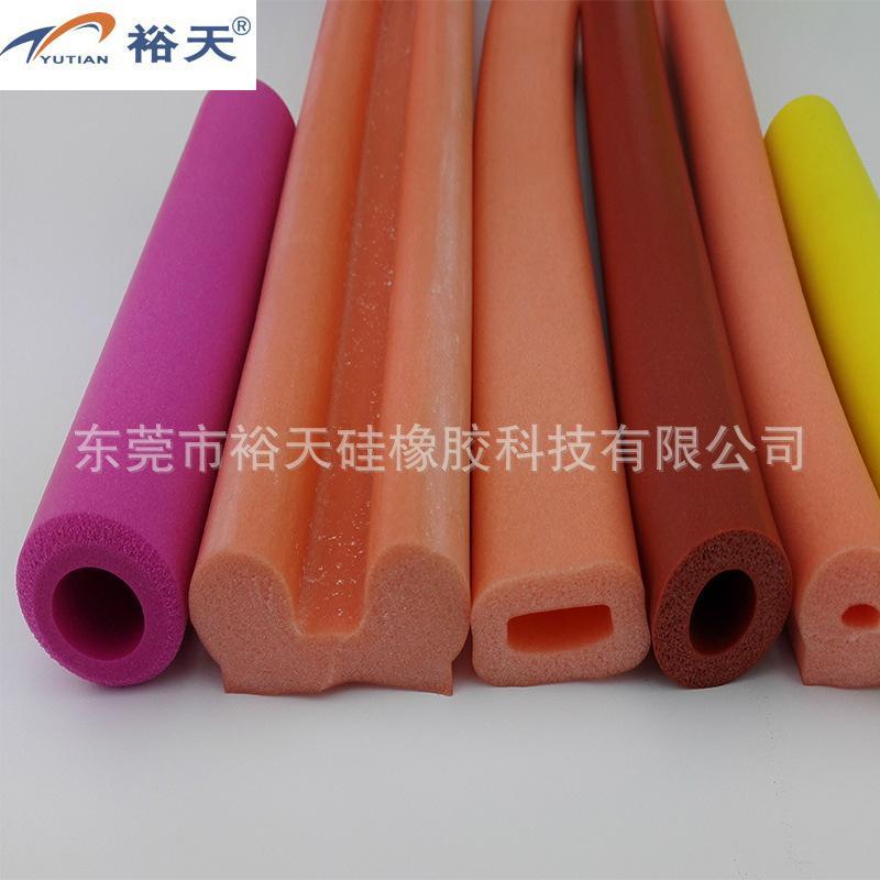 耐高温矽胶海绵管