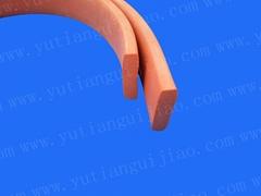 闭孔发泡硅胶密封条