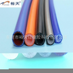 special braided silicone hose for coffee machine