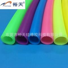 彩色定制颜色硅胶管厂家