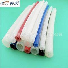 食品級纖維編織硅膠管