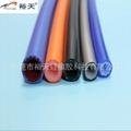 编织硅胶管 硅胶编织管 厂家 1