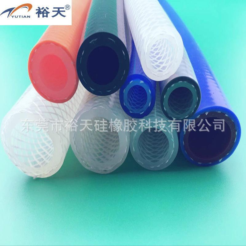 编织硅胶管 硅胶编织管 厂家 4