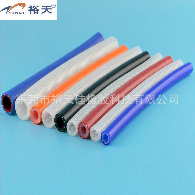 编织硅胶管 硅胶编织管 厂家 5