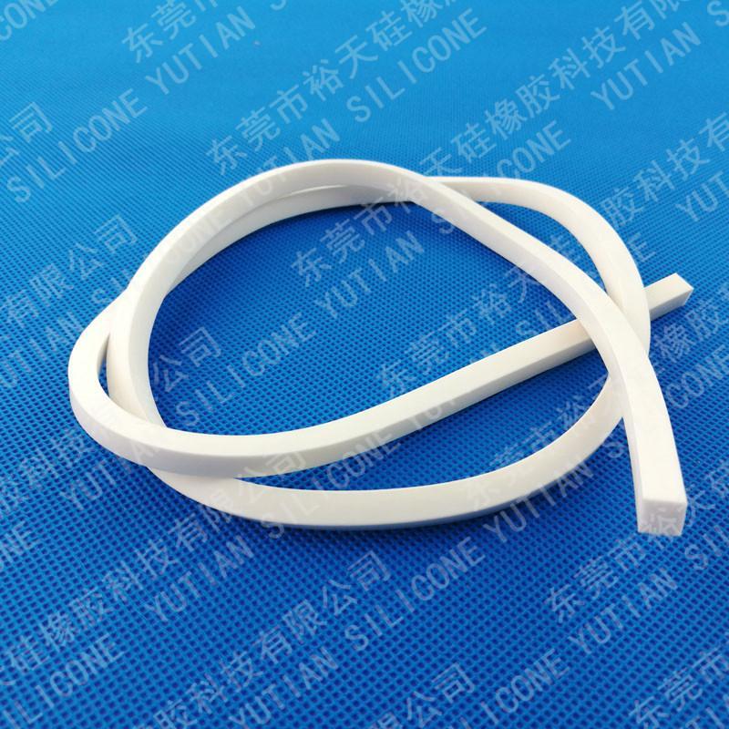 硅胶发泡条密封硅胶圈生产厂家 5