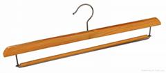 Wooden pant hanger dress  hanger skirt hanger