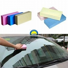 PVA Car Cleaning Polish Wash Square Sponge High Quality