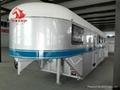 hot sale 3 horse gooseneck trailer AUS standard
