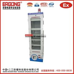 加熱泵儀表顯示防爆正壓櫃