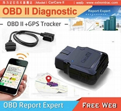 OBD GPS car tracker OBD2 OBDII GPS vehicle Tracker diagnostic