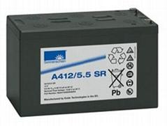 德国阳光蓄电池A412/5.5SR 现货