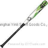 DeMARINI CF Zen Senior League (-5) Baseball Bat(green)