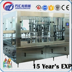Beverage Plastic Bottle automatic Filling Capping Machine with Manufactory