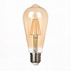 New Style CURVED LED FILAMENT LED EDISON BULB ST64