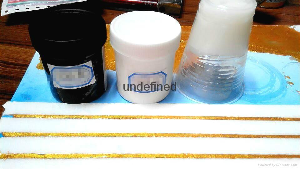 耐黄变抗潮双组份油性1:1真瓷胶原料 1